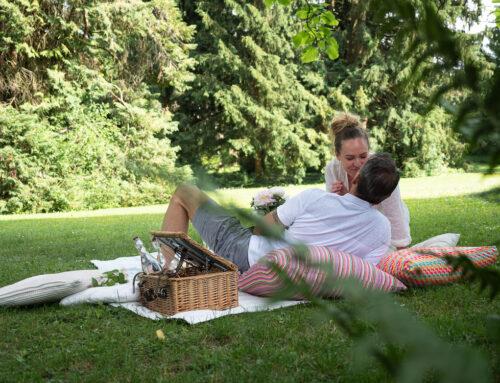Picknick und Pics im Park